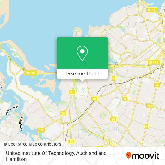 Unitec Institute Of Technology map