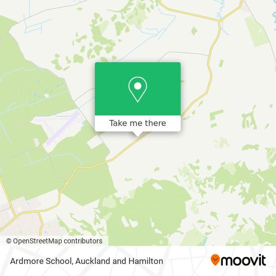 Ardmore School map