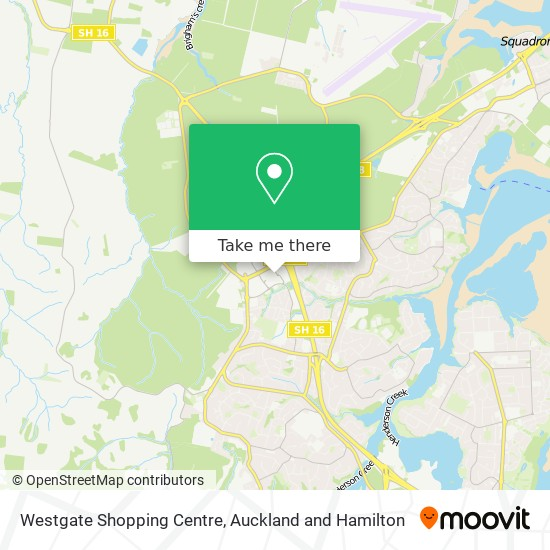 Westgate Shopping Centre map