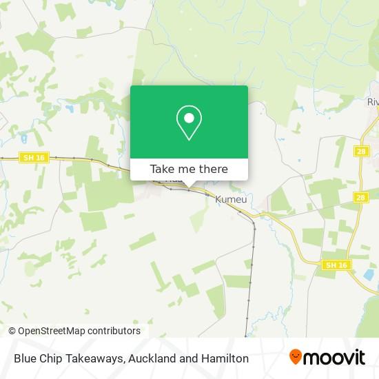 Blue Chip Takeaways map