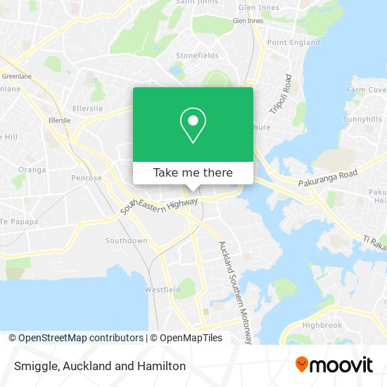 Smiggle map