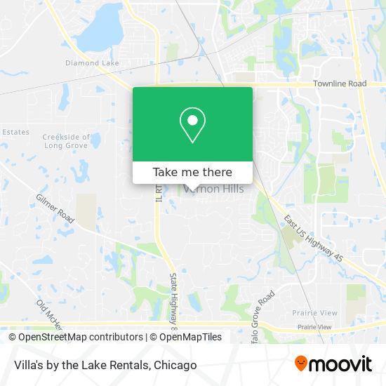 Villa's by the Lake Rentals mapa