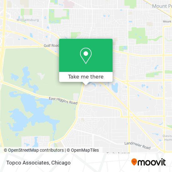 Topco Associates地图