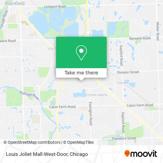 Louis Joliet Mall-West-Door地图
