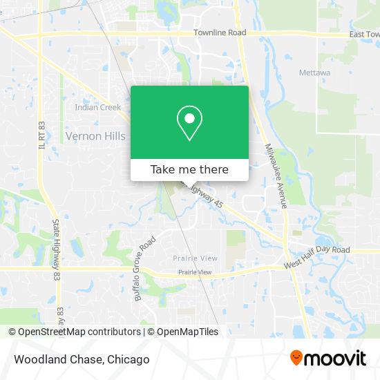Woodland Chase map