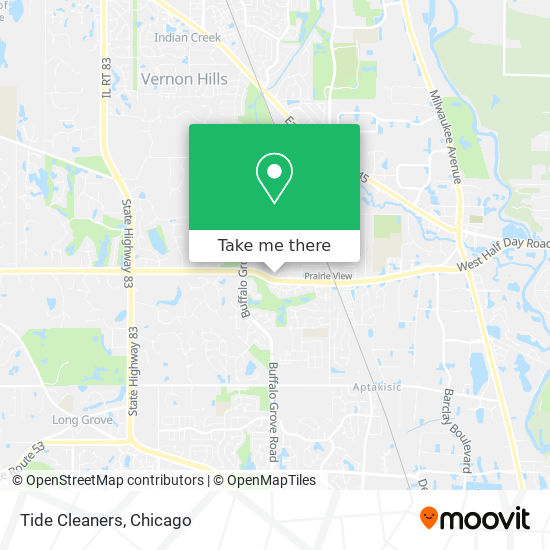 Tide Dry Cleaners mapa