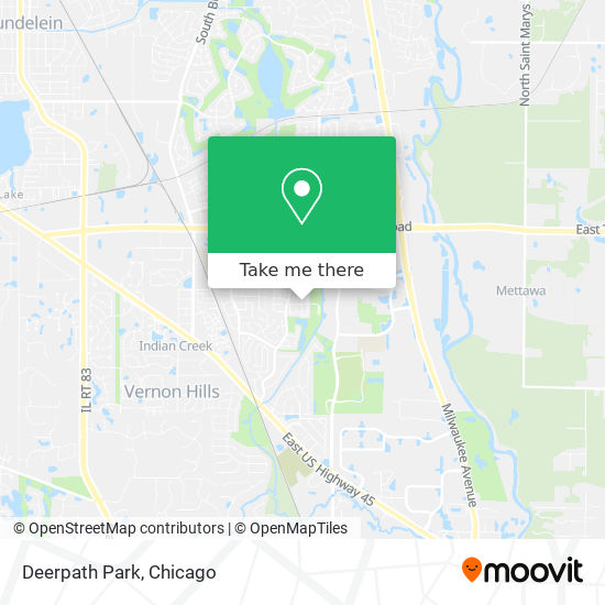 Deerpath Park map