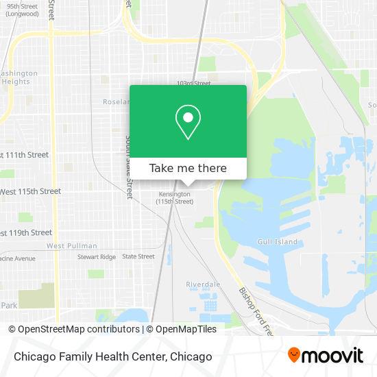 Chicago Family Health Center map
