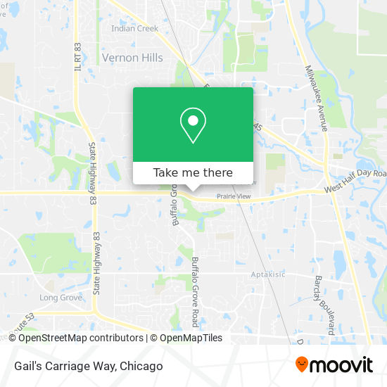 Gail's Carriage Way map