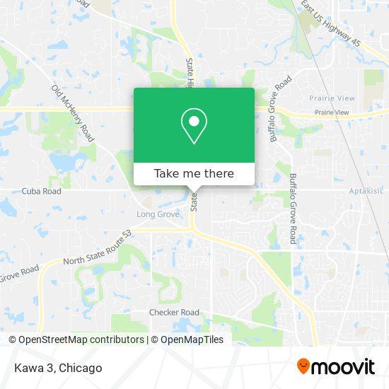 Mapa de Kawa 3