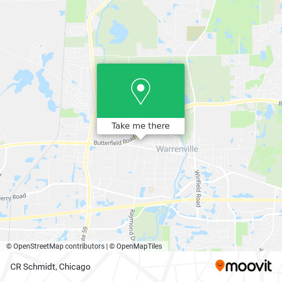 CR Schmidt mapa