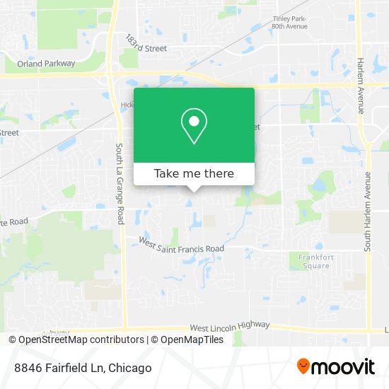 8846 Fairfield Ln plan