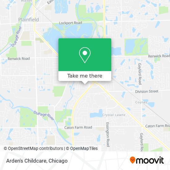 Arden's Childcare地图