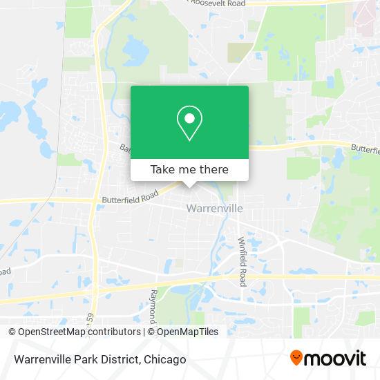 Warrenville Park District mapa