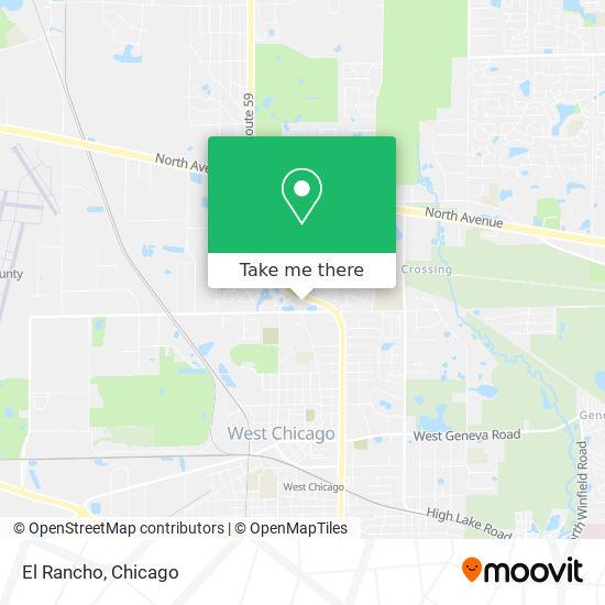 El Rancho mapa