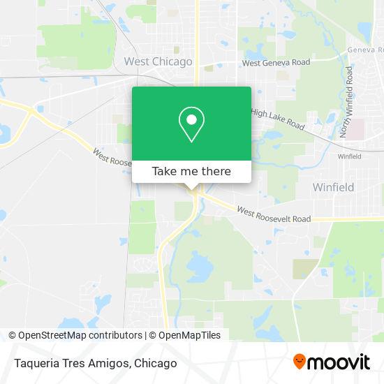 Taqueria Tres Amigos map