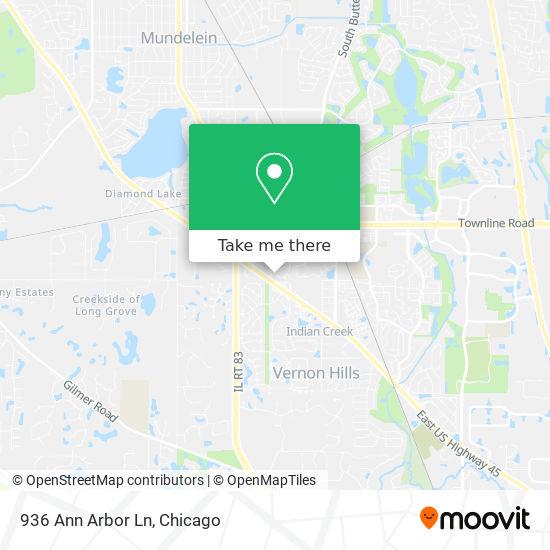 936 Ann Arbor Ln map