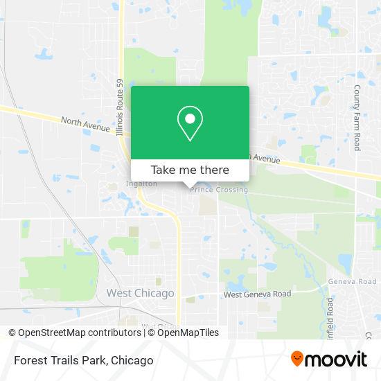 Mapa de Forest Trails Park
