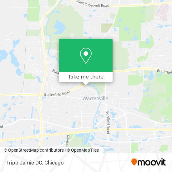 Tripp Jamie DC mapa