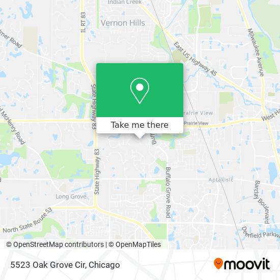 5523 Oak Grove Cir map