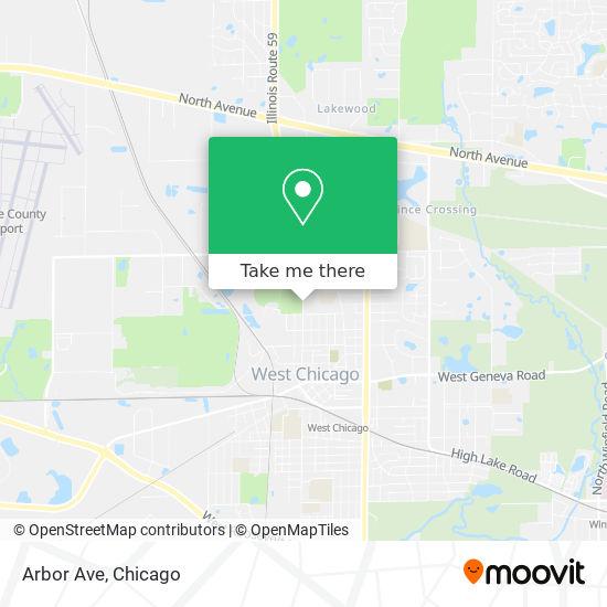 Arbor Ave mapa