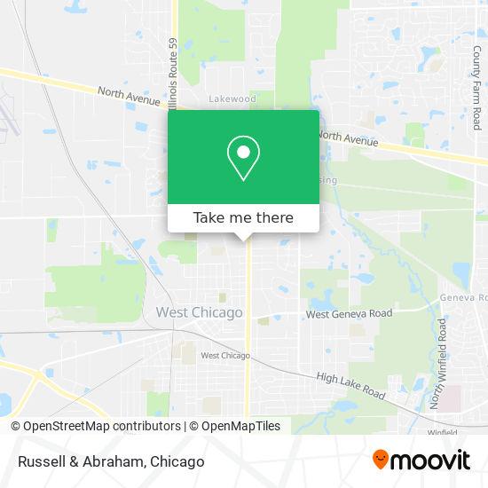Russell & Abraham mapa