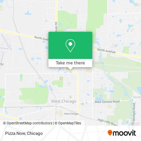 Pizza Now mapa