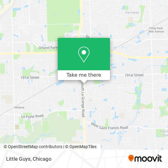 Little Guys map
