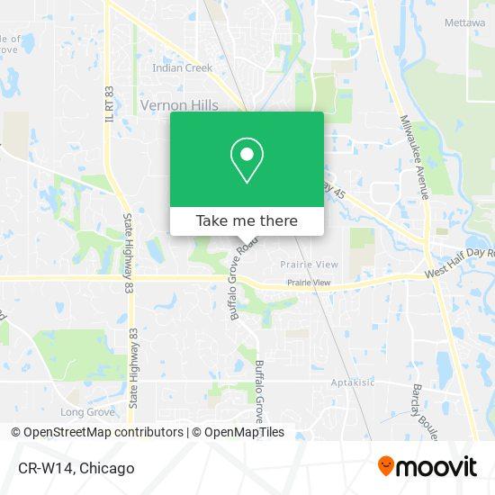CR-W14 map