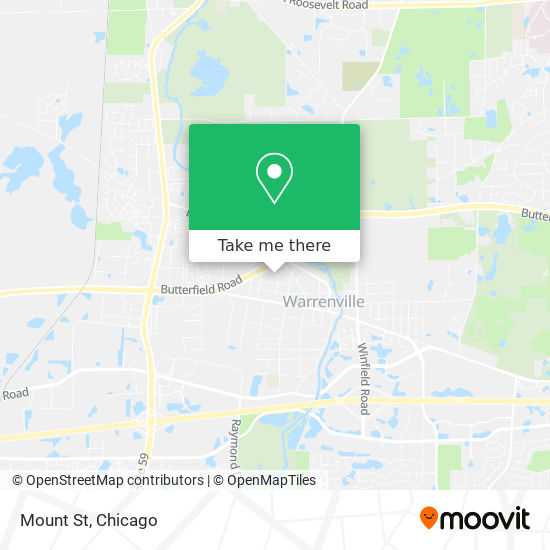 Mount St mapa