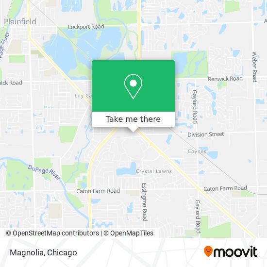 Magnolia地图