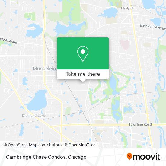 Mapa de Cambridge Chase Condos