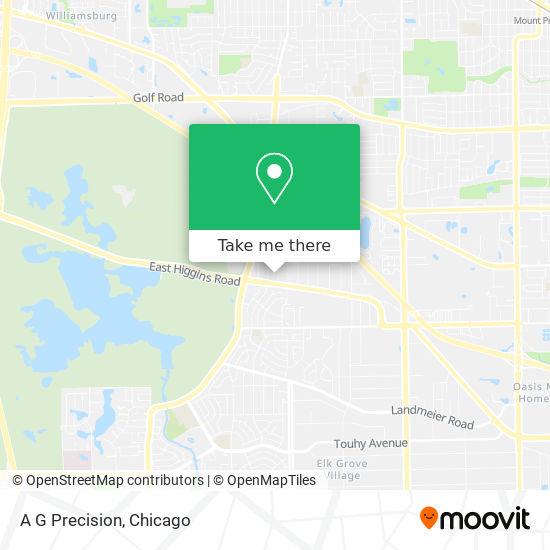 A G Precision map
