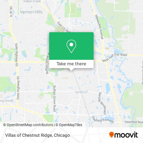 Mapa de Villas of Chestnut Ridge