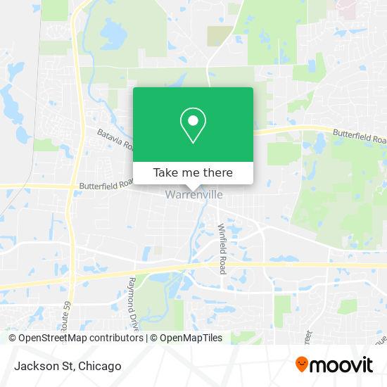 Jackson St地图