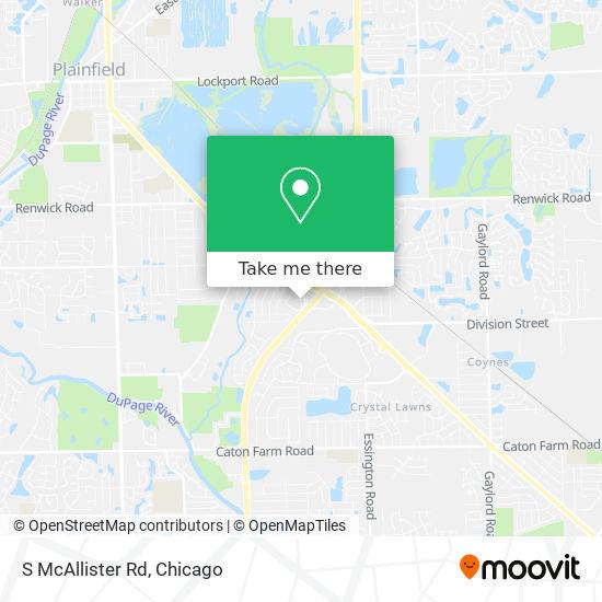 S McAllister Rd地图