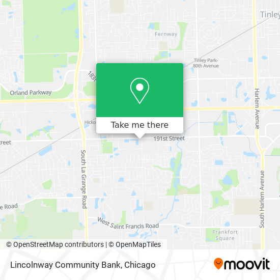 Lincolnway Community Bank plan