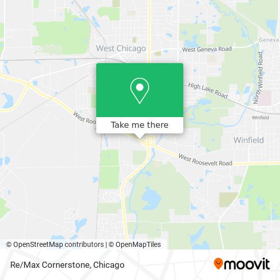 Re/Max Cornerstone map