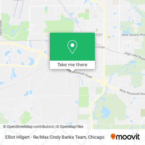 Elliot Hilgert - Re / Max Cindy Banks Team map