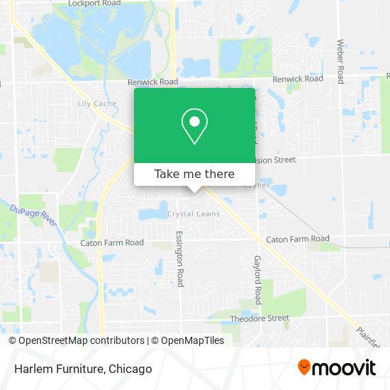 Harlem Furniture地图
