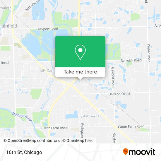16th St地图