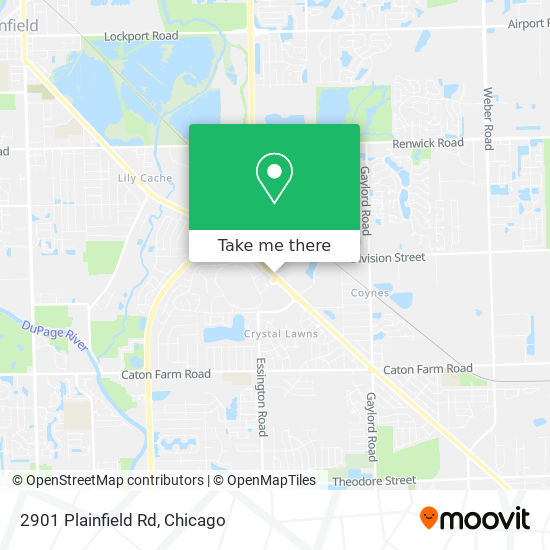 2901 Plainfield Rd地图