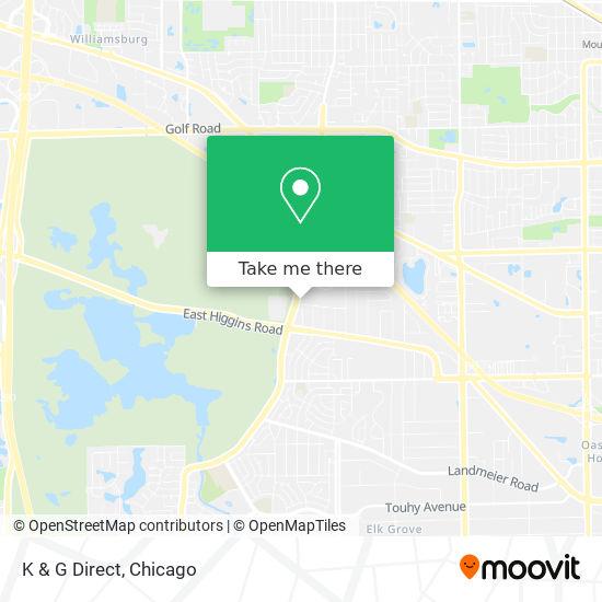 K & G Direct地图