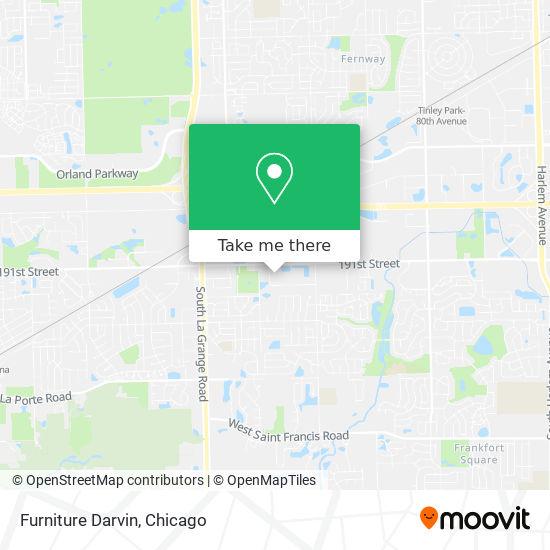 Mapa de Furniture Darvin