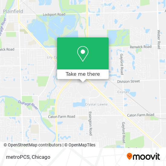 metroPCS地图
