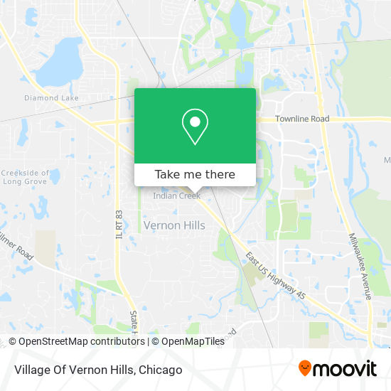 Mapa de Village Of Vernon Hills