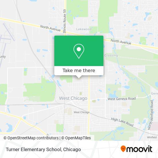 Turner Elementary School mapa
