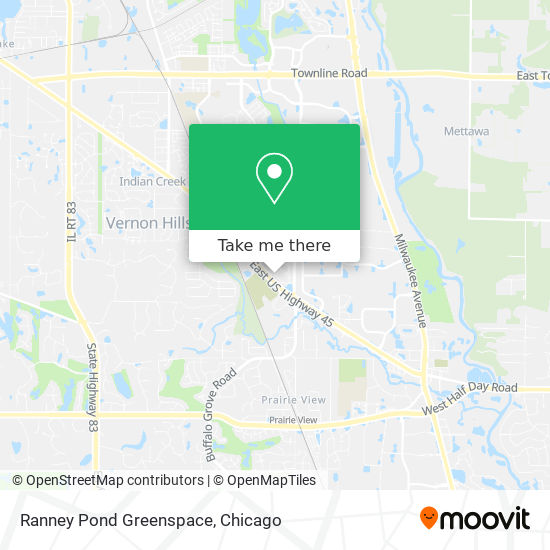 Mapa de Ranney Pond Greenspace