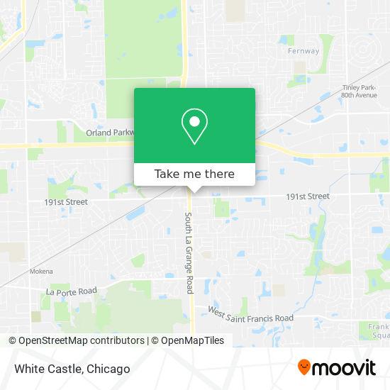Mapa de White Castle