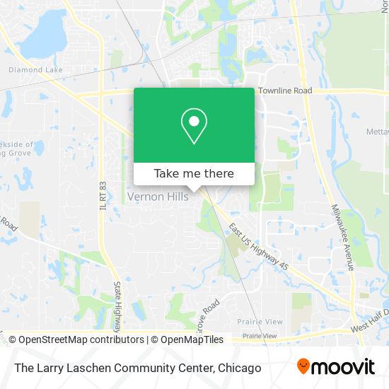 The Larry Laschen Community Center mapa